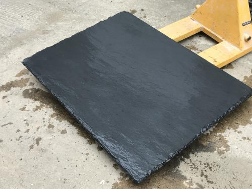 Chiselled Edge Slate Hearth