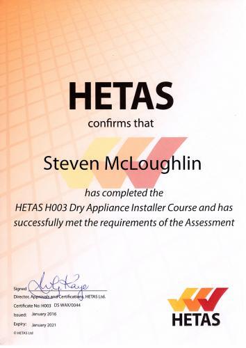 HETAS-H003-B